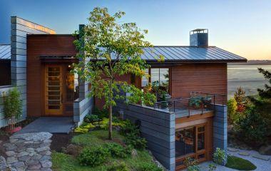 Фасадная отделка дома – интересные и оригинальные идеи