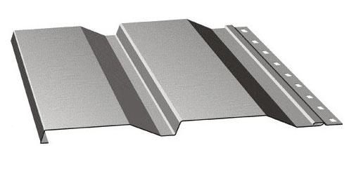 Панель с полимерным покрытием