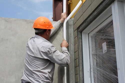Герметизация межпанельных швов жилого дома