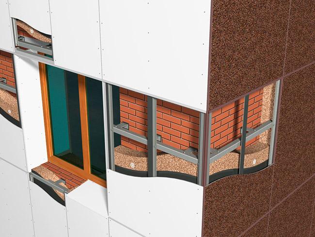 Профиль цокольный для утепления фасада