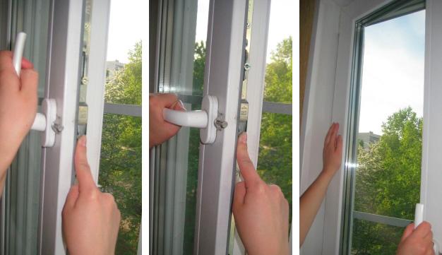 Заклинила ручка пластикового окна, решение проблемы