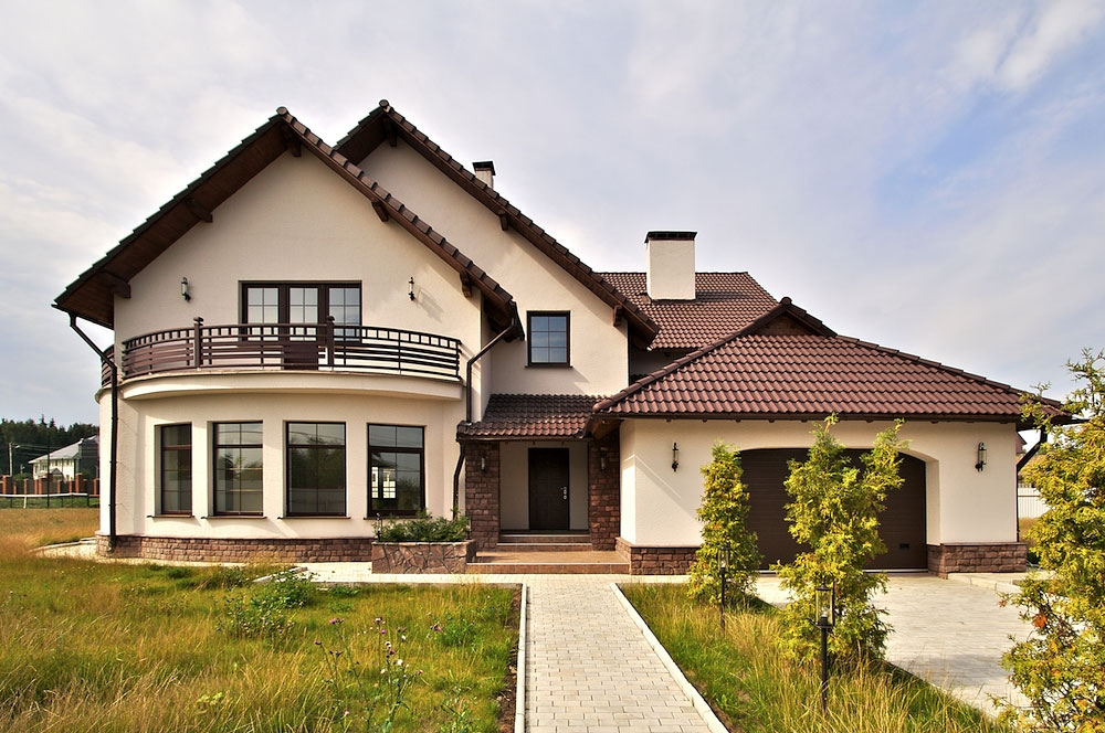 дома фото жилые загородные